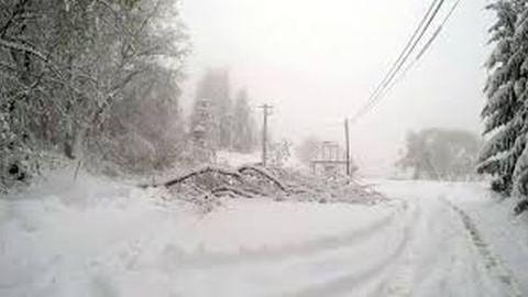 Félmilliárdos kárt okozott az Északi-középhegységben az áprilisi havazás