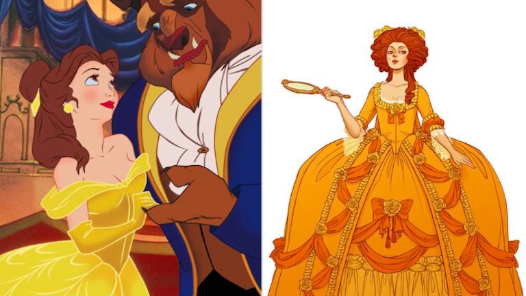 Ilyen lennének a Disney-hercegnők korhű jelmezekben