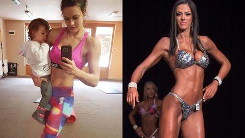 Szülés után lett bikinifitnesz-versenyző Aliz
