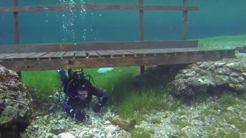 Minden tavasszal vízi világgá változik ez az osztrák park – videó