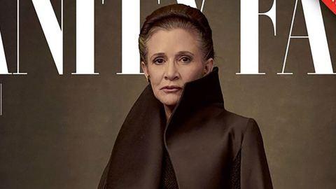 Meghatóan gyönyörű lett Carrie Fisher utolsó címlapfotója