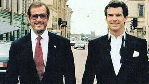 Olvasd el, hogyan búcsúzott Roger Moore-tól két másik Bond!