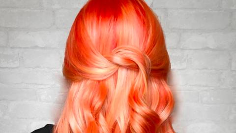 A mandarin színű tincsekkel bebizonyíthatod, hogy készen állsz a nyárra