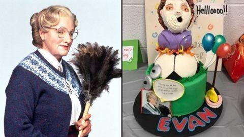 Mrs. Doubtfire-szülinapot akart a négyéves