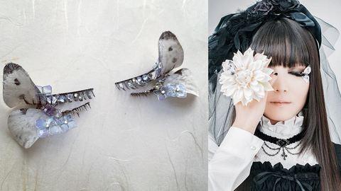Beteges vagy látványos? Pillangós műszempilla-őrület Japánból