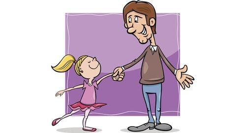 A napom hőse az az apuka, aki kislánya kedvéért az oviig keringőzik