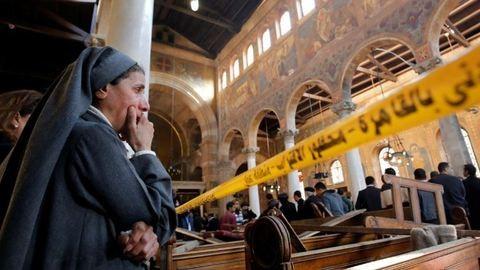 Keresztények buszát érte támadás Egyiptomban, sok a halott