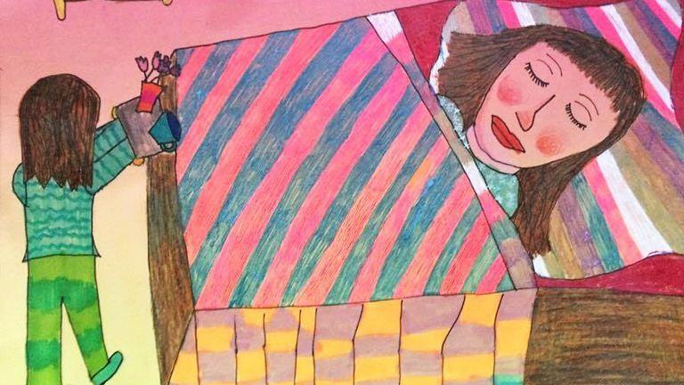 Anya meggyógyul! – A mellrákról mesélnek a gyerekrajzok