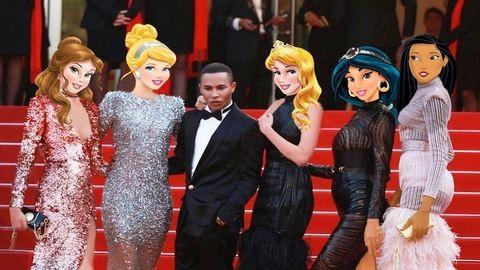 A cannes-i vörös szőnyegen is felbukkantak a Disney-hercegnők