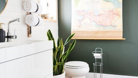 8 DIY-trükk, amellyel egy hétvége alatt feldobhatod a fürdőszobát
