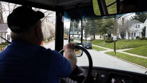 Rendőrök állították meg a részeg buszsofőrt