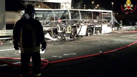 Veronai buszbaleset: lezárta a nyomozást az olasz ügyészség