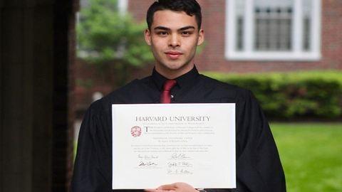 Korábban a Mekiben gürcölt, most pedig a Harvardon végzett