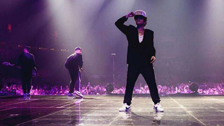 Nézd meg, hogy buliztak a sztárok a Bruno Mars-koncerten!
