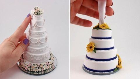 Ezekkel a miniszobrokkal örökké veled maradhat az esküvői tortád