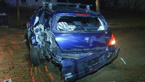 Jót tett a részeggel, saját kocsija látta kárát