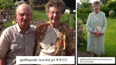 Állandóan feleségéről posztol az Instagram 86 éves sztárja