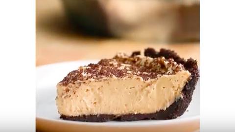 Mennyei csokis kekszes-mogyoróvajas torta