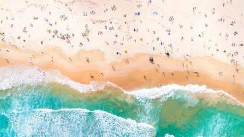 Absztrakt festmény, biológiai kísérlet vagy tájkép? – Ausztrália madártávlatból