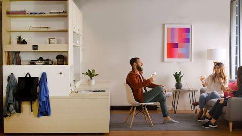 Ez a robotbútor megváltoztathatja a garzonlakásban élés fogalmát