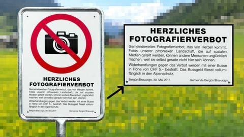 Ez a svájci város olyan szép, hogy megtiltották a fotózását