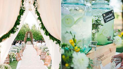 Csodás inspirációk nyári esküvőkhöz