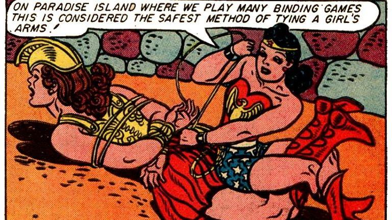 Dominancia, kötözős szex: íme Wonder Woman sötét titka