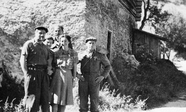 A francia ellenállás tagjaival (Fotó: Imperial War Museum)