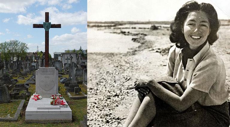 Christine Granville a londoni St. Mary's római katolikus temetőben nyugszik (Fotó: Wikipedia)