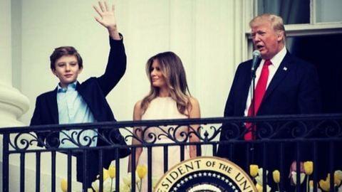 Melania Trump összeköltözik a férjével