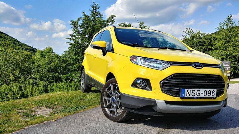 Ford Ecosport: a legnagyobb kisautó
