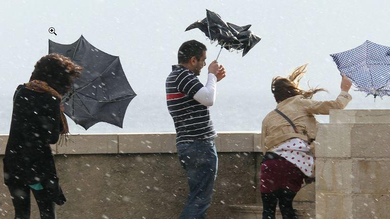 Időjárás: Viharos szél és jégeső is lehet szombaton