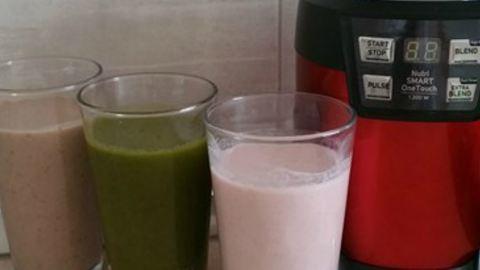 Kipróbáltuk: 3 egyszerű, egészséges és nagyon finom smoothie