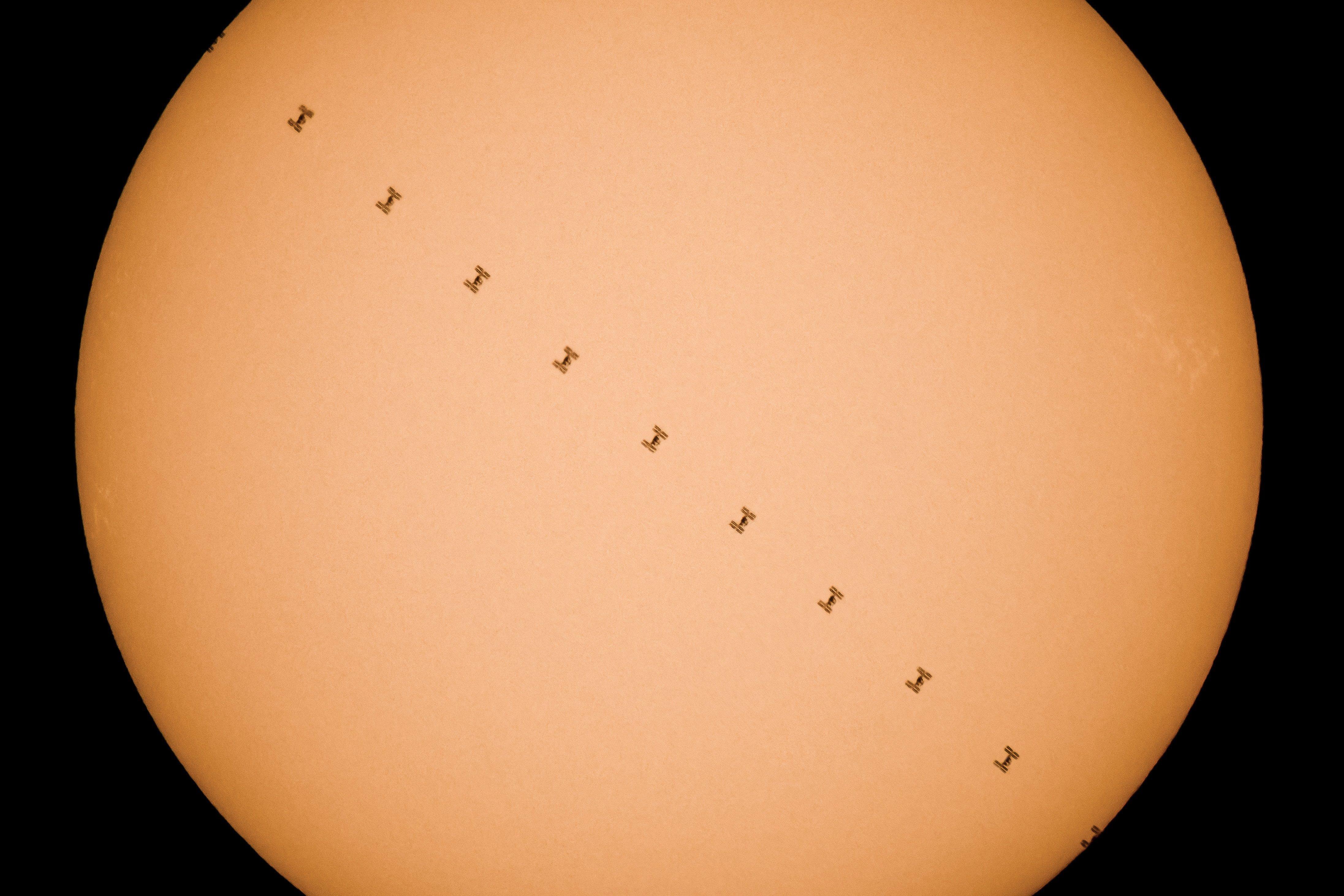 A Felvidékről fotózták le a Nemzetközi Űrálomást - lenyűgöző képek