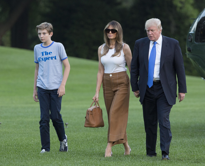 Melania Trump végre beköltözött a Fehér Házba