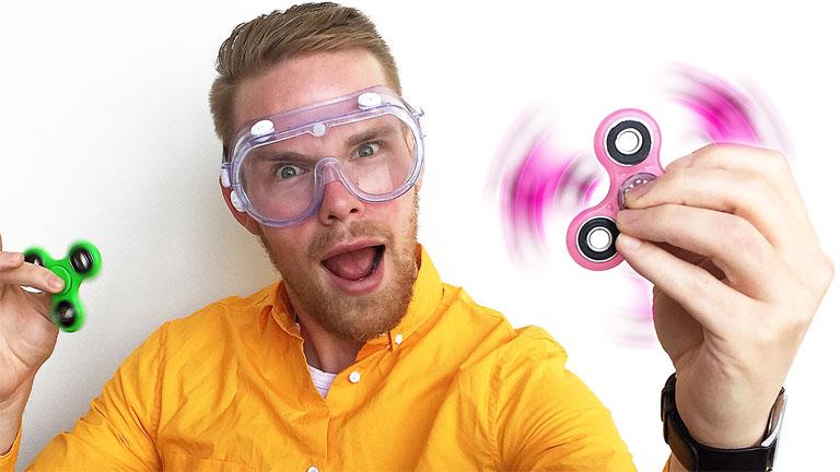 Fidget spinner ma már mindenféle színben és formában elérhető (Fotó: Tumblr)