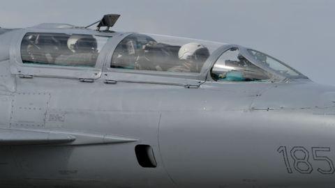 Lezuhant egy katonai repülőgép Romániában
