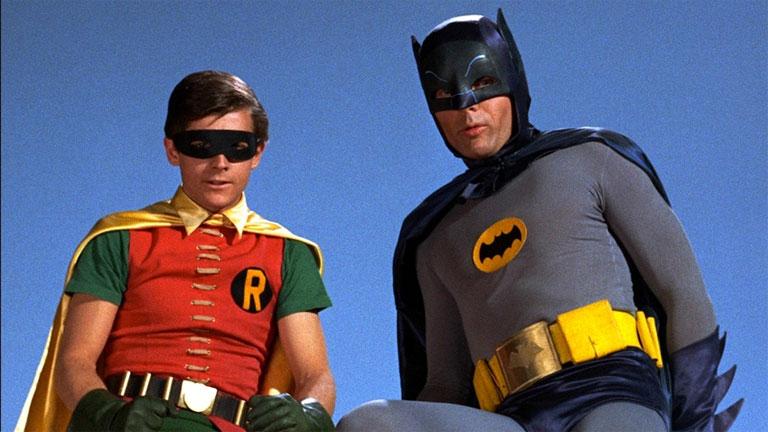 Batman (Adam West) és Robin (Burt Ward) generációk kedvencei lettek (Fotó: Tumblr)
