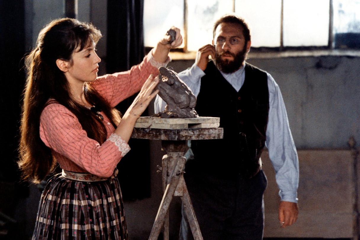 Isabelle Adjani és Gerard Depardieu az 1988-as Camille Claudel c. filmben