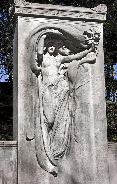 Daniel Chester French szobrász emlékműve