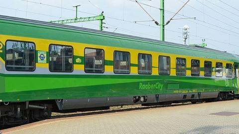 Megfőnek az utasok a Sopron-Budapest InterCity-járaton