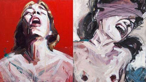 Önkielégítés, kikötözés, fájdalom: a nőiségről mesélnek ezek a festmények