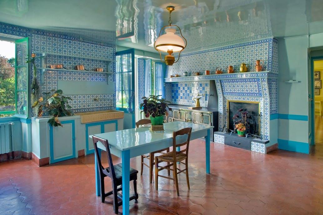 Monet híres kertjénél csak a konyhája csodásabb