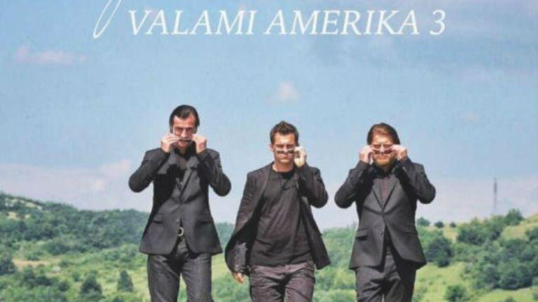 Valami Amerika 3. forgatása: Hujber Feri, Pindroch Csaba és Szabó Győző első közös képe