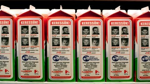 A tejesdobozokon keresett négy fiatalból három nincs is eltűnve