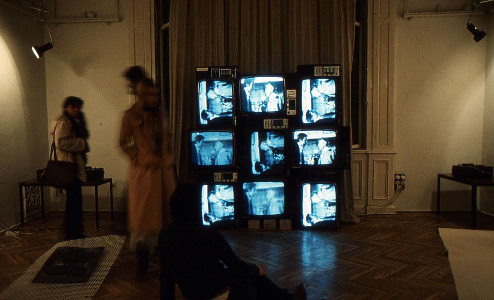 ...és tévéképernyőkből (Fotó: Kemény György)