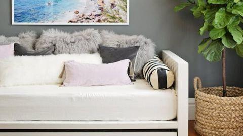 5 zseniális mód, ahogy kis lakásban az ágyat álcázhatod