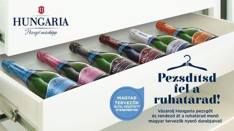 Pezsdítsd fel a ruhatárad a Hungaria pezsgővel!