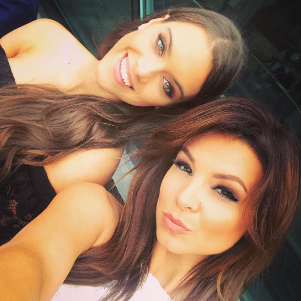 Sarka Kata és a tavalyi miss World Hungary, Gelencsér Tímea