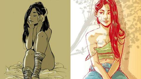 Szexi, buja, édes: így látja a nőket ez a képregényrajzoló
